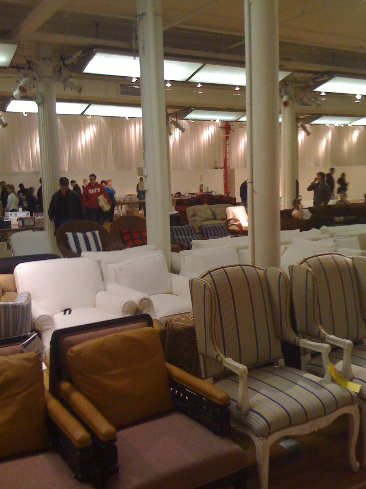 In The Trenches Ralph Lauren Home Sample Sale