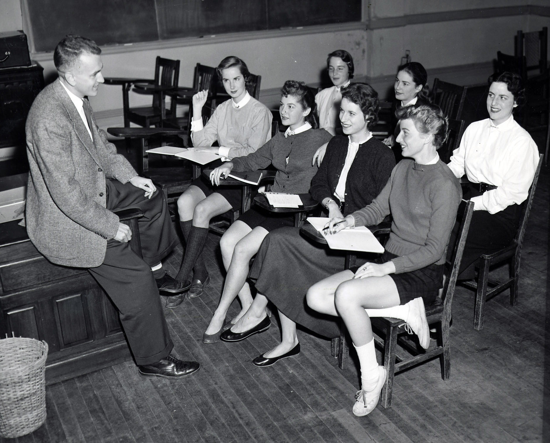 College of Education History: The 1950s