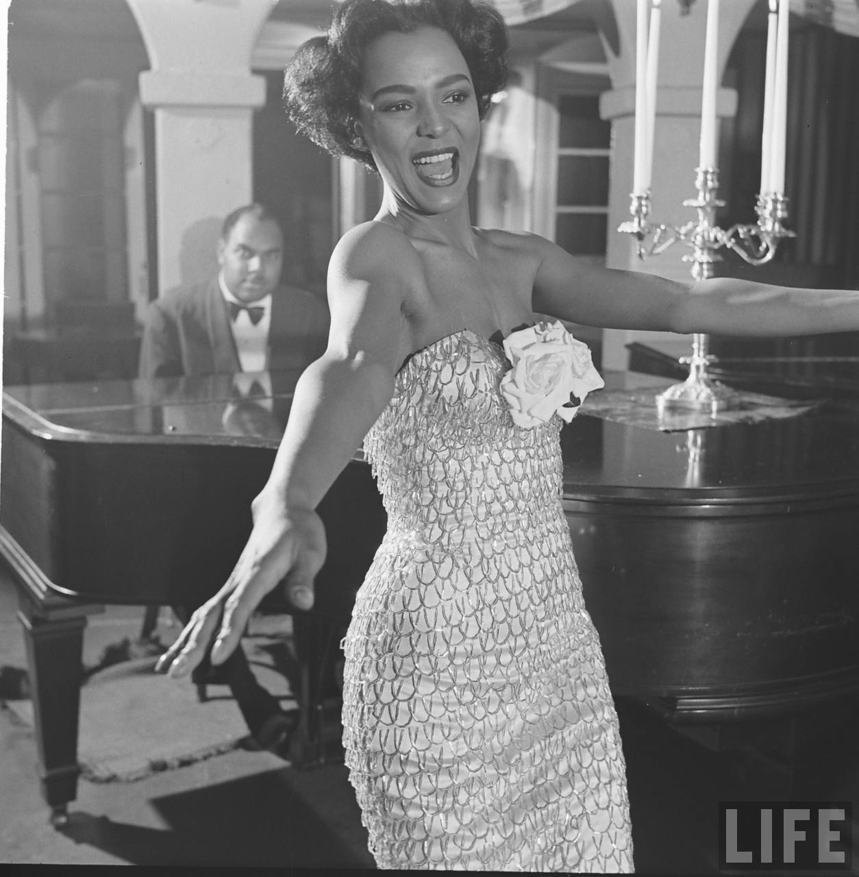 Dorothy Dandridge Quite Continental