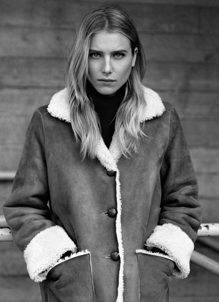 Dree Hemingway for Margaret Howell Fall 2011 | Quite Continental