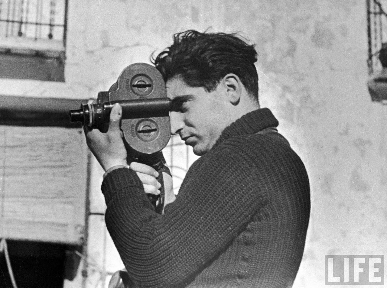 A biography of robert capa a photojournalist
