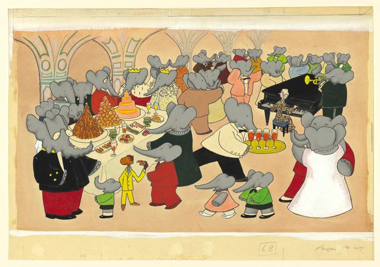 Extrêmement Les Histoires de Babar at Les Arts Décoratifs | Quite Continental BH31