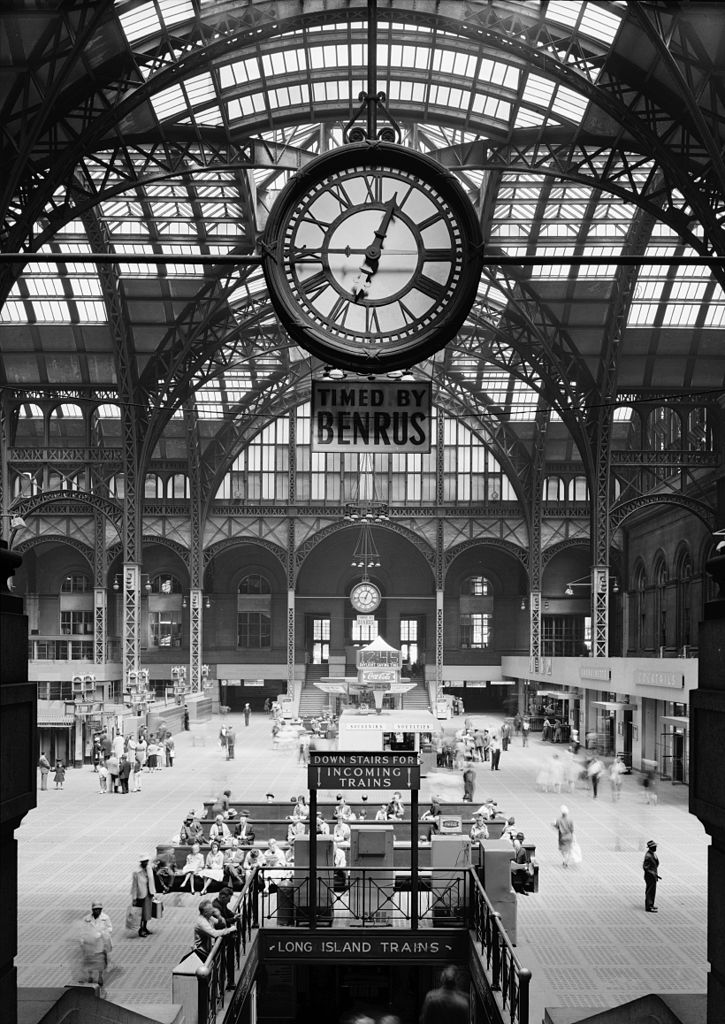 Ghosts Of Train Stations Past New York Pennsylvania Station Quite Continental