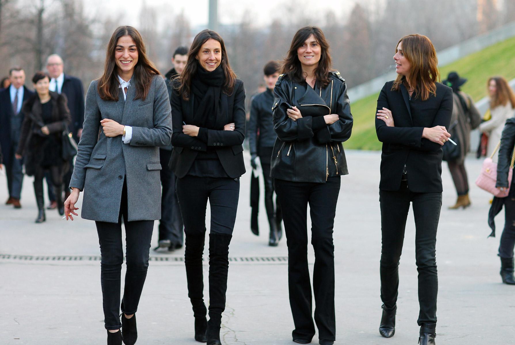 On Uniforms Also Style Icon Emmanuelle Alt Quite