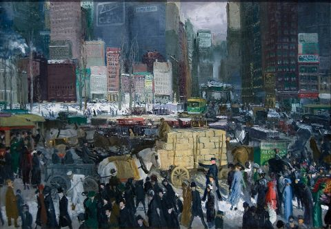 New York by George Bellows