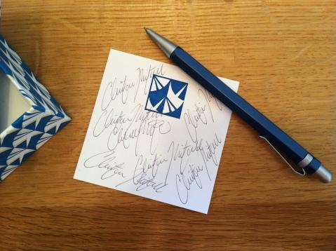 QC Charm School: Craft Your Written Signature