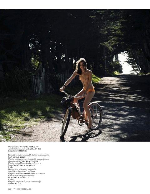Vogue Netherlands July 2013