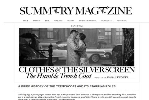 Trench Coat - Summary Mag