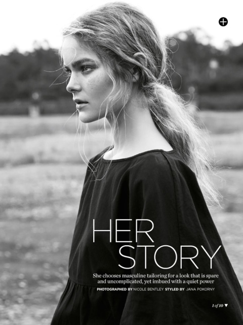 The Natural || Her Story - Marie Claire Australia