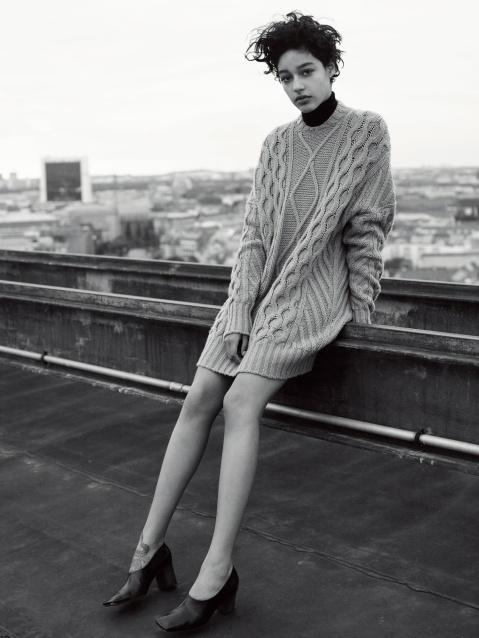 Quite Continental: UK Vogue October 2015